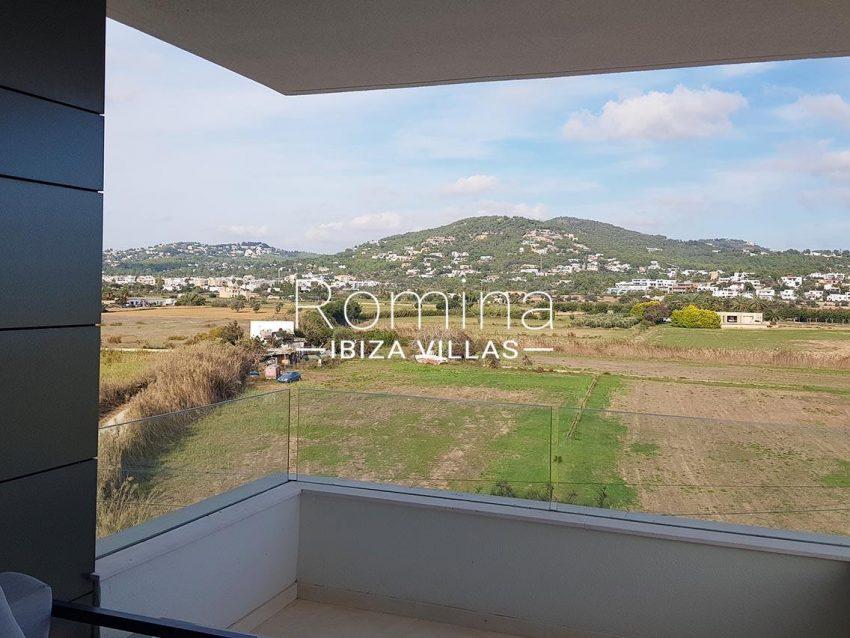 apto moderno ibiza-1terrace view hills2
