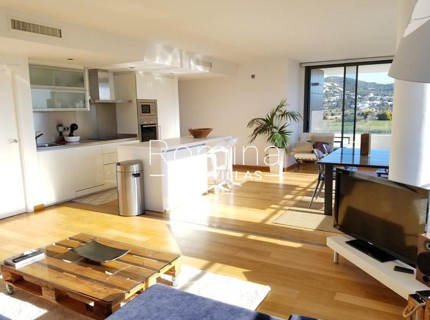 apto moderno ibiza-3living dining room kitchen2