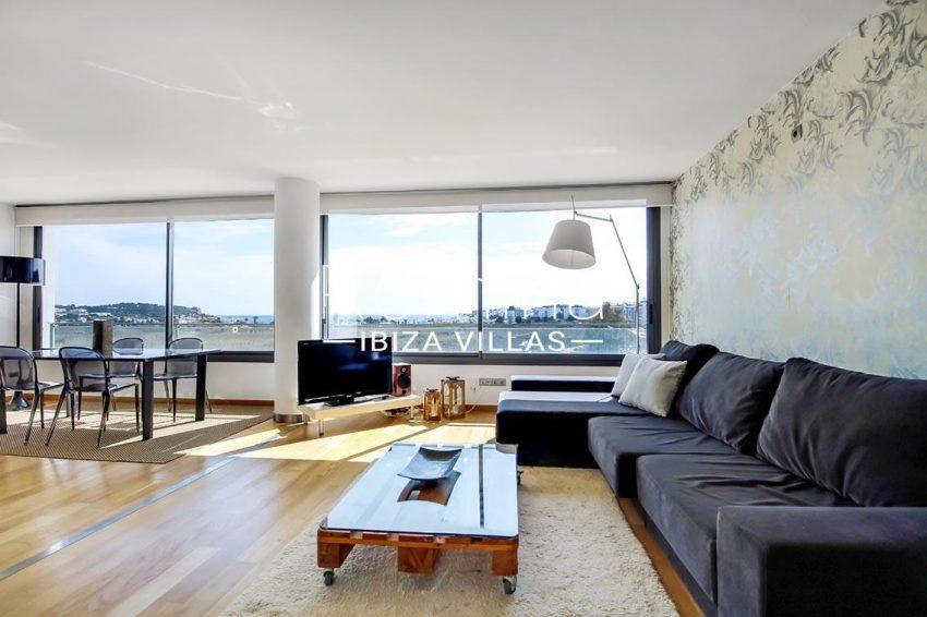 apto moderno ibiza-3living dining room view