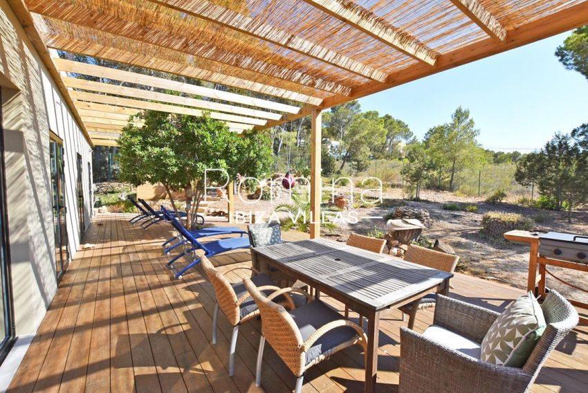 casa lau ibiza-2pergola terrace dining area lounge