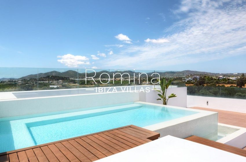 penthouse awa ibiza-1pool view hills2