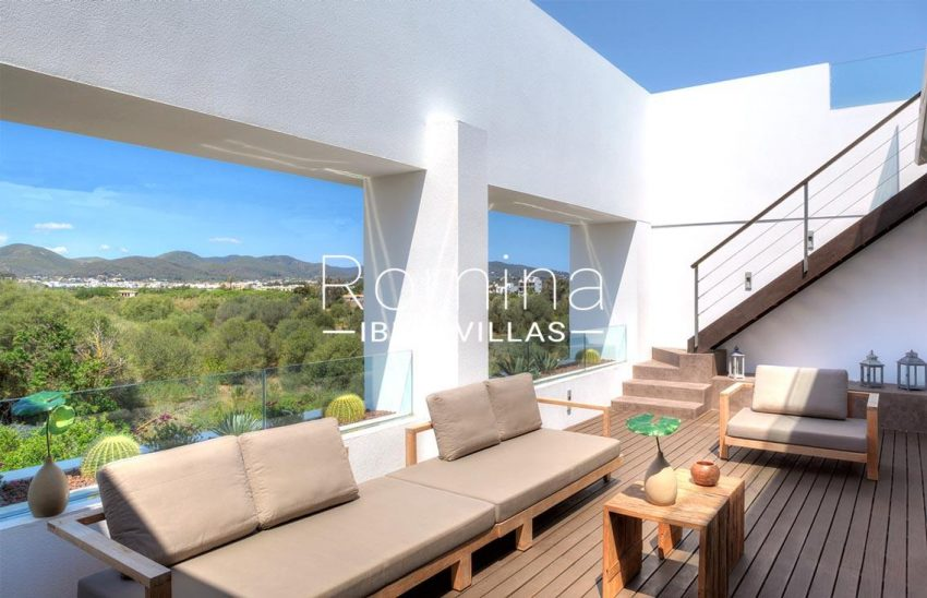 penthouse awa ibiza-1terrace view hills