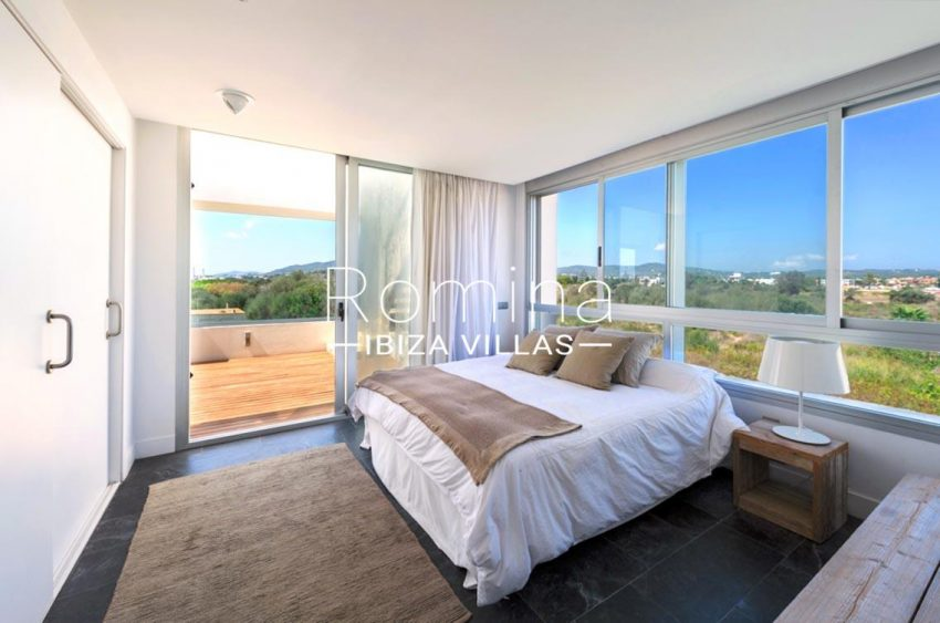 penthouse awa ibiza-4bedroom terrace view hills