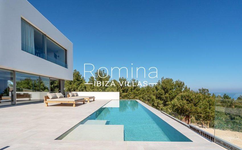 villa natalia ibiza-2pool terrace facade3