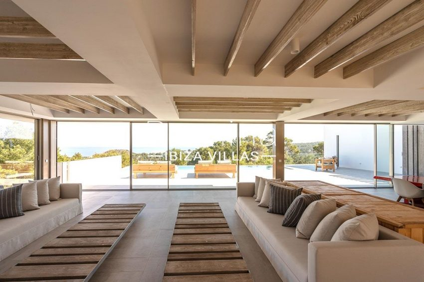 villa natalia ibiza-3living room sea view