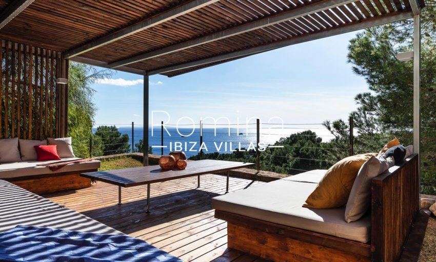 villa sedna ibiza-1covered terrace sittingarea sea view