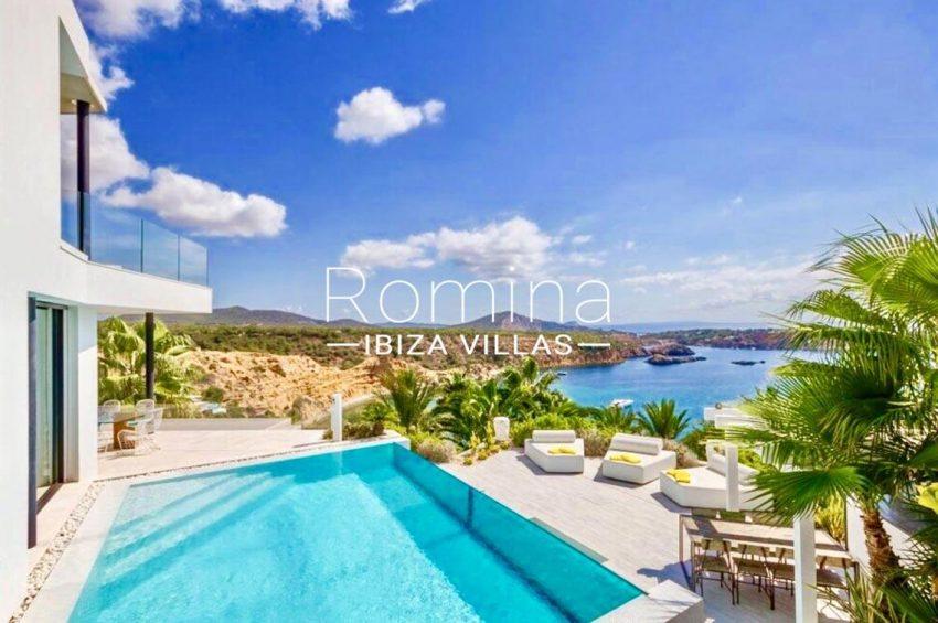 villa ada ibiza-1pool terrqce sea view