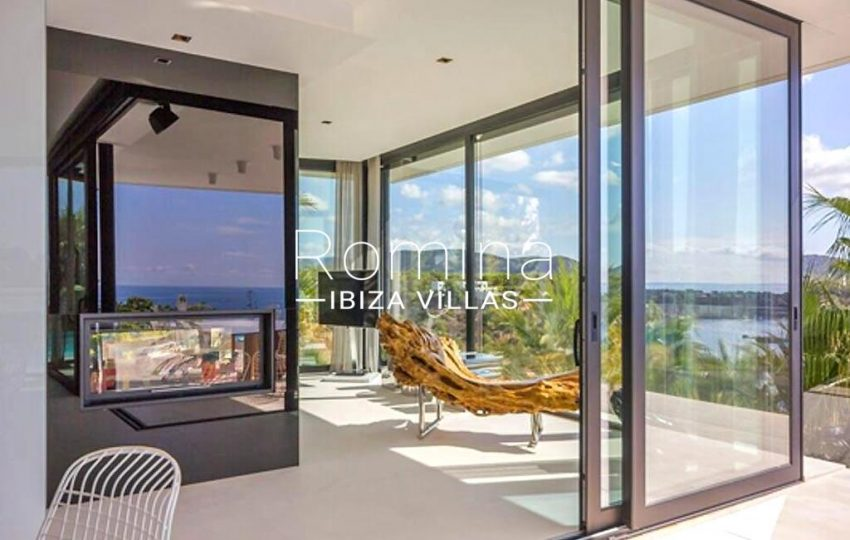 villa ada ibiza-3living room wooden seat2