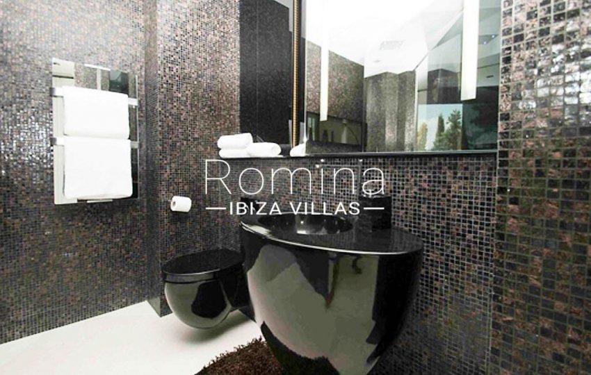 villa ada ibiza-5bathroom balck