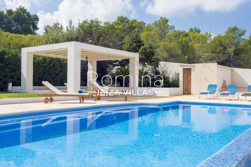 villa baixa ibiza-2pool