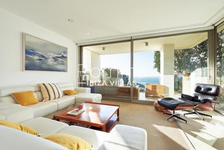 villa kai ibiza-3livingroom sea view