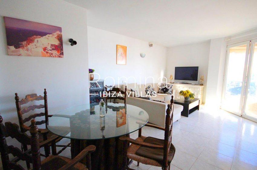 atico villa ibiza-3living dining room