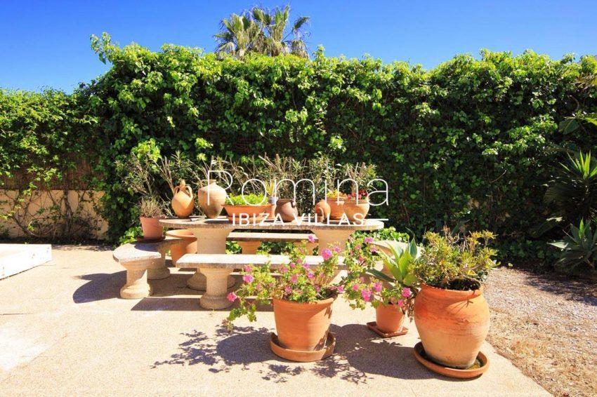 casa caliza ibiza-2terrace flowers and plants
