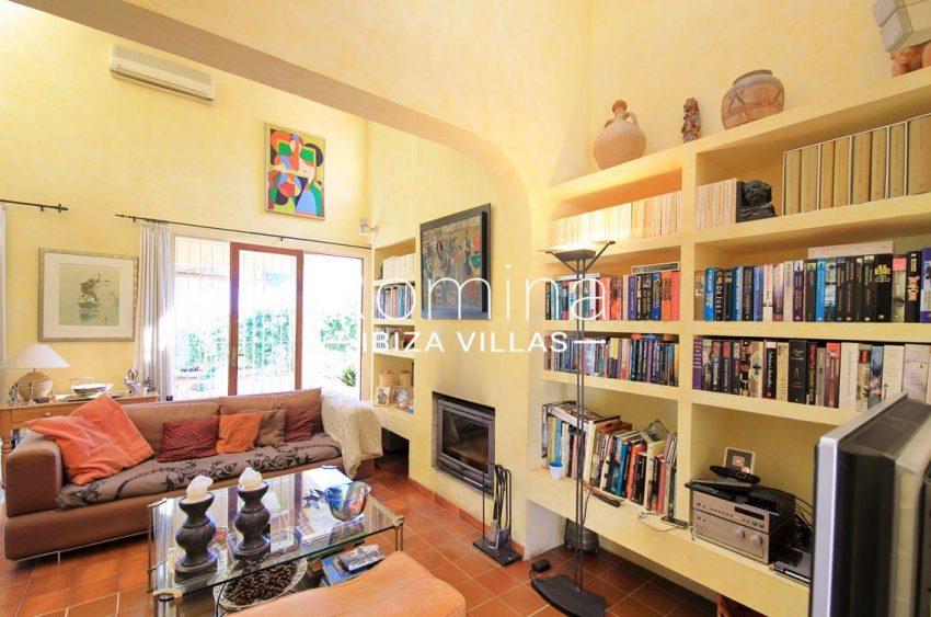 casa caliza ibiza-3living room fireplace2