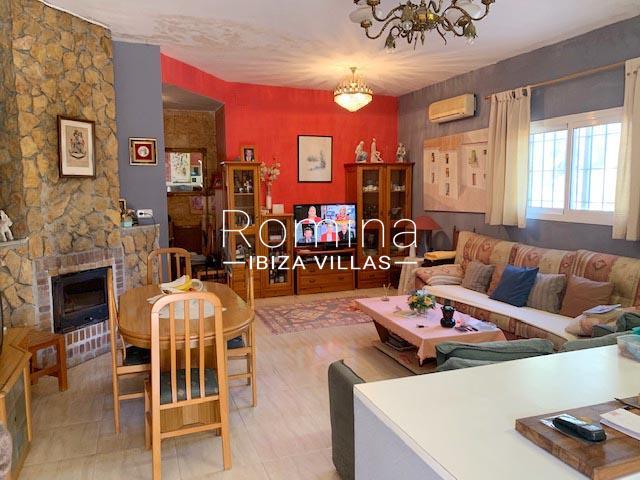 casa ema ibiza-3living room fireplace