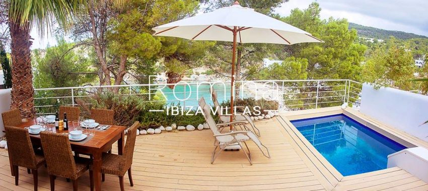 casa praia ibiza-1poll terrace sea view
