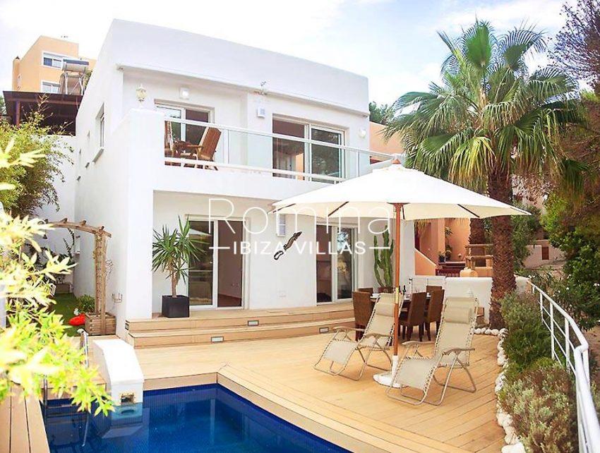 casa praia ibiza-2pool facade