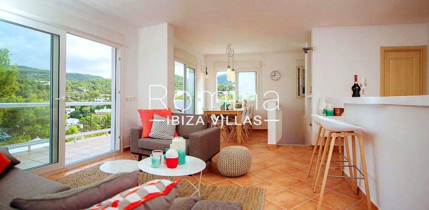 casa praia ibiza-3living dining room kitchen