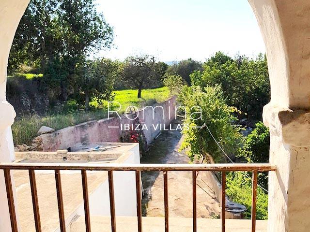 finca arcus ibiza-1terrace arch view
