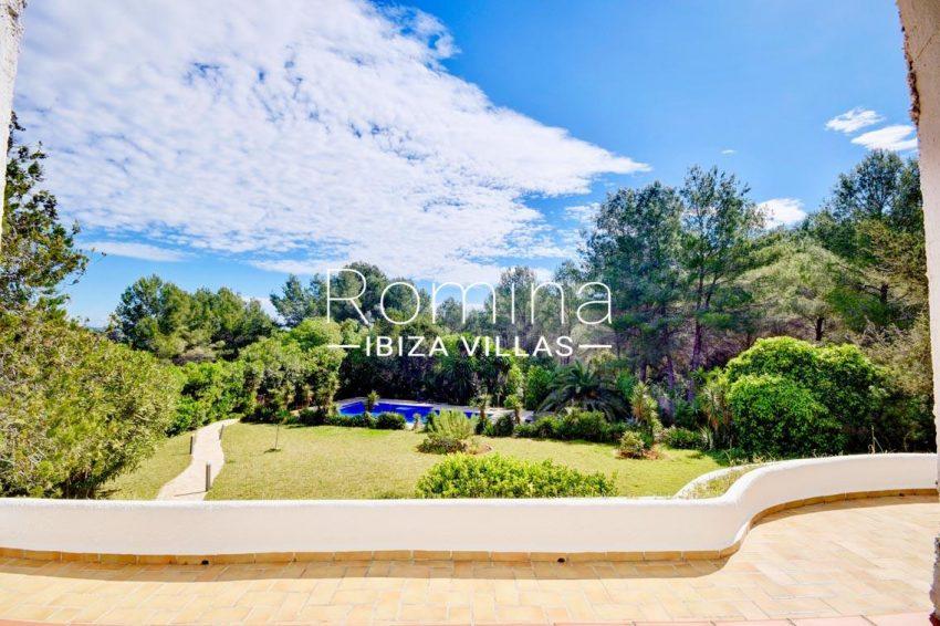 villa aria ibiza-2terrace pool garden