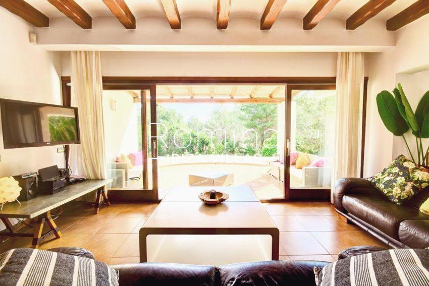villa aria ibiza-3living room