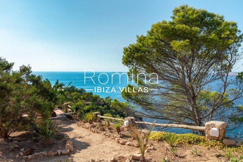 villa artemis ibiza-1garden sea view