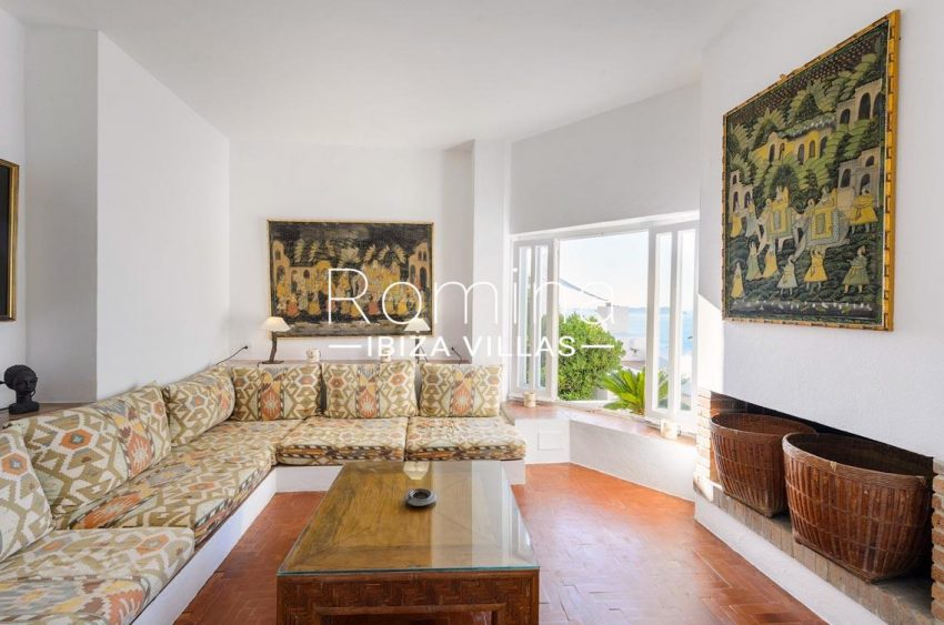 villa artemis ibiza-3living room sea view