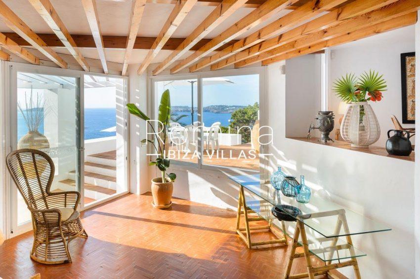 villa artemis ibiza-3sitting room sea view