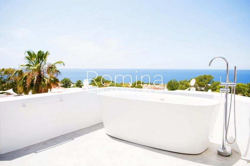 villa aurelia ibiza-1terrace sail bath sea views