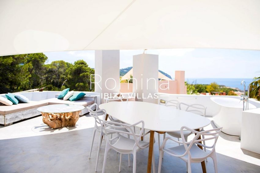 villa aurelia ibiza-1terrace sail sea view