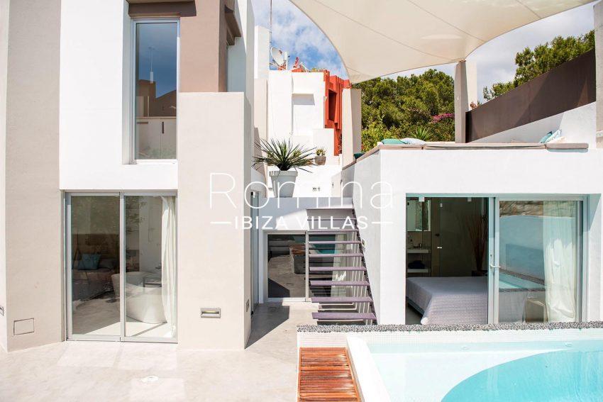 villa aurelia ibiza-2pool facade