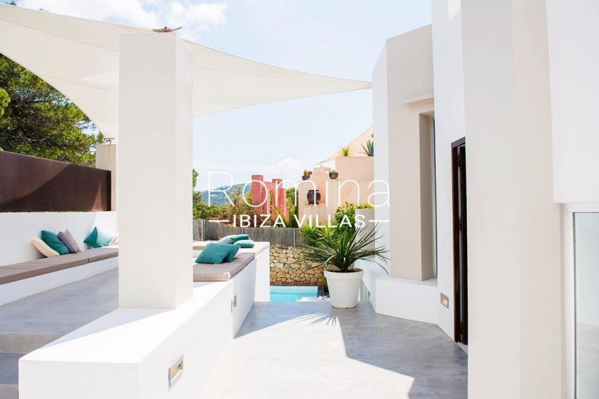 villa aurelia ibiza-2terrace sail pool