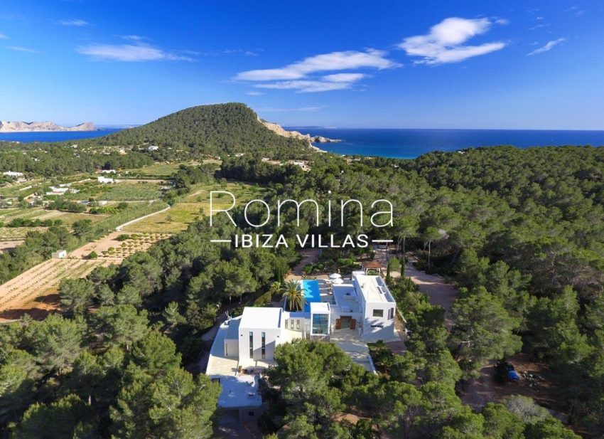 villa blue bay ibiza-1house sea view