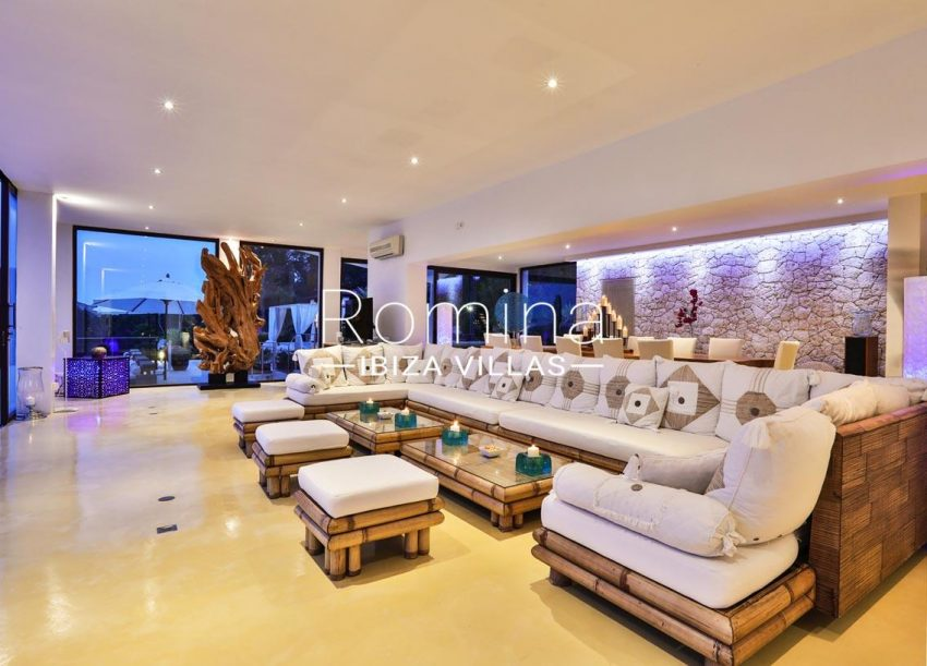 villa blue bay ibiza-3living dining room