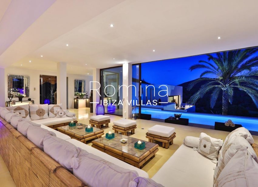 villa blue bay ibiza-3living room