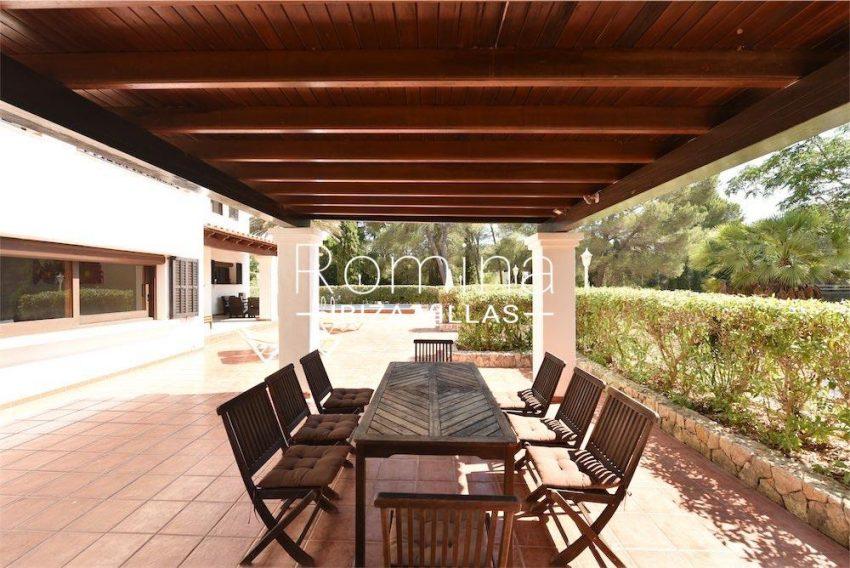 villa camps ibiza-2pergola terrace diningarea
