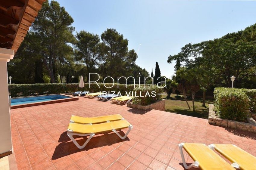 villa camps ibiza-2pool terrace