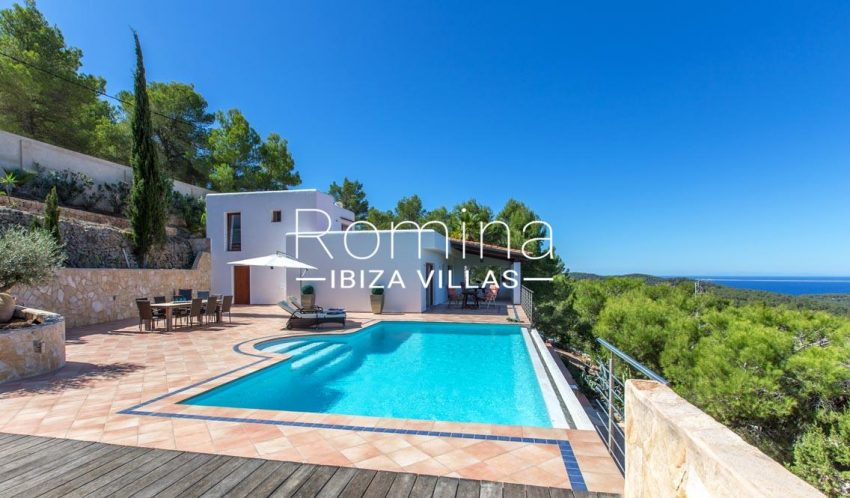 villa miki ibiza-1pool terrace house sea view3