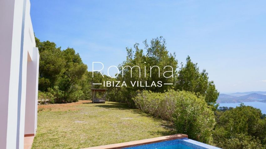 villa mirador ibiza-1pool sea view2p