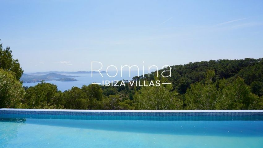 villa mirador ibiza-1pool sea view3p