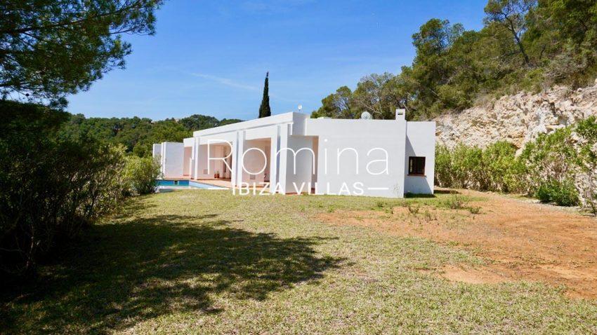 villa mirador ibiza-2garden facadep