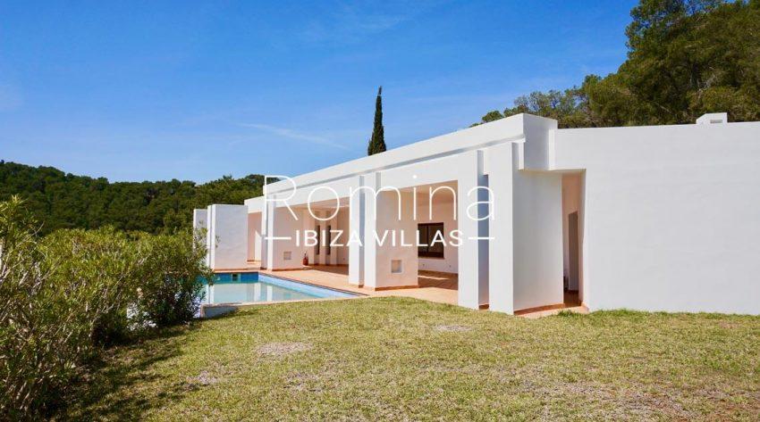 villa mirador ibiza-2pool facadep