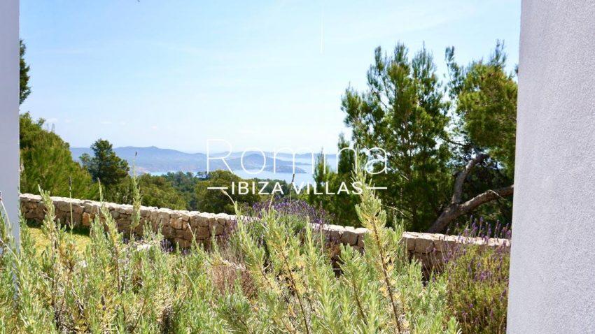 villa paraiso ibiza-1garden sea view2
