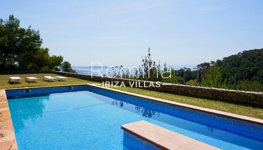 villa paraiso ibiza-1pool sea view3p