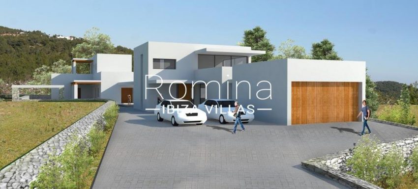 can cipres ibiza-6project entrance garage