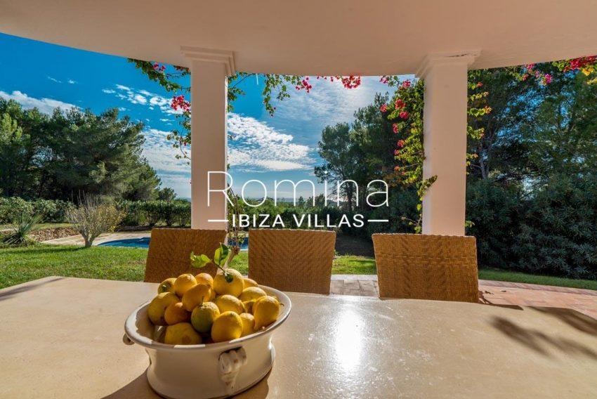 casa danny ibiza-1porch dining area sea view