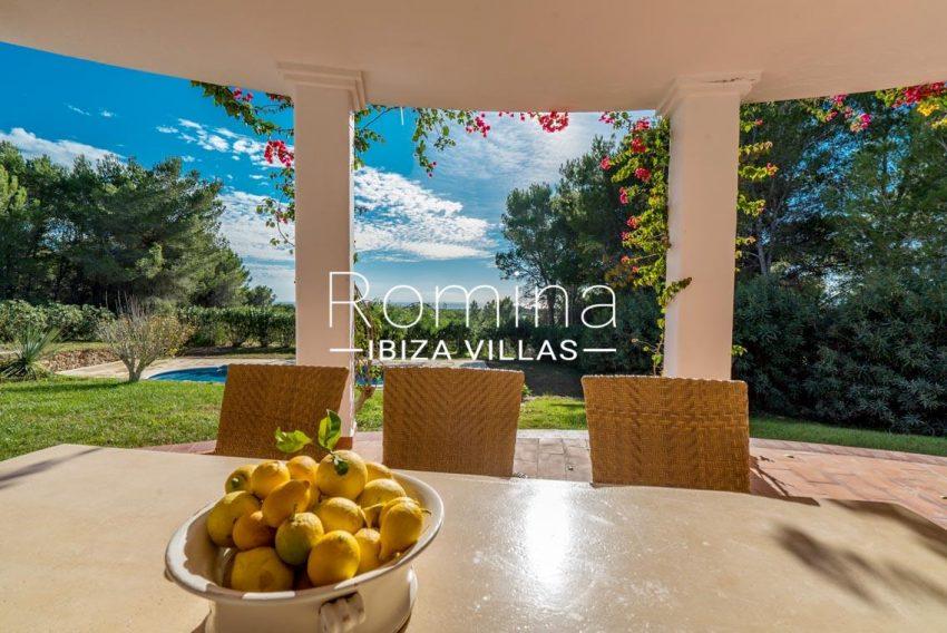 casa danny ibiza-1porch dining area sea view2