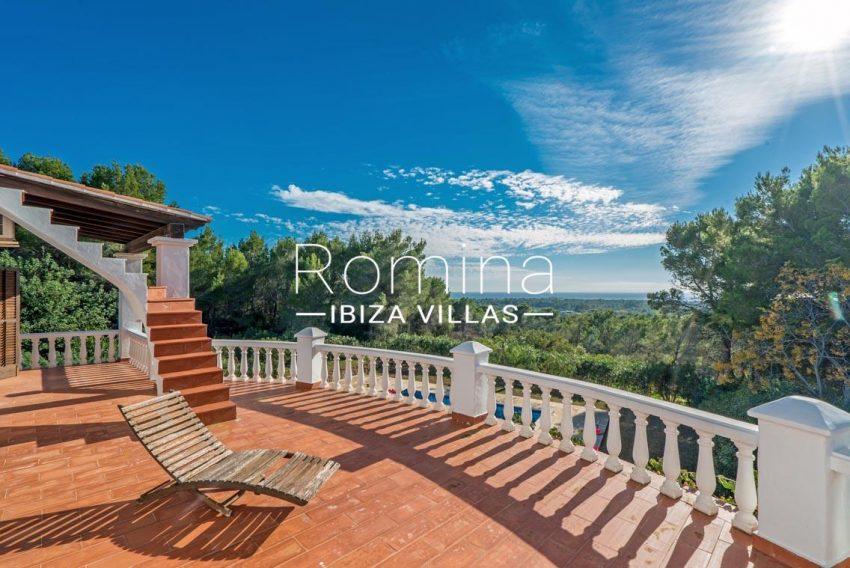 casa danny ibiza-1upper terrace sea view