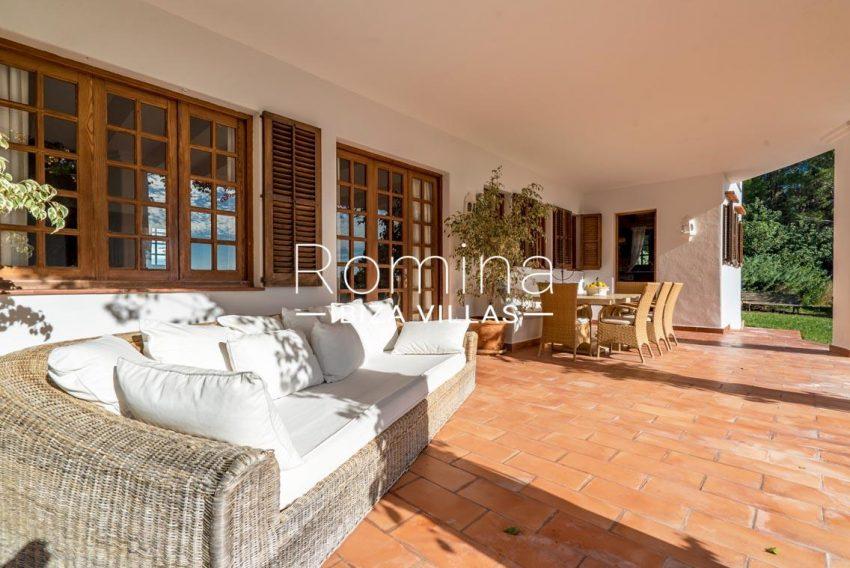 casa danny ibiza-2porch lounge dining area