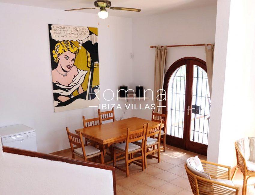 casa roy ibiza-3zdining area